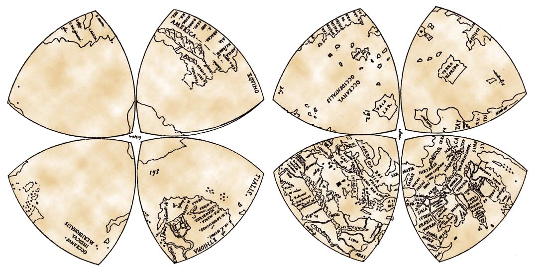 Leonardo's Mappamundi