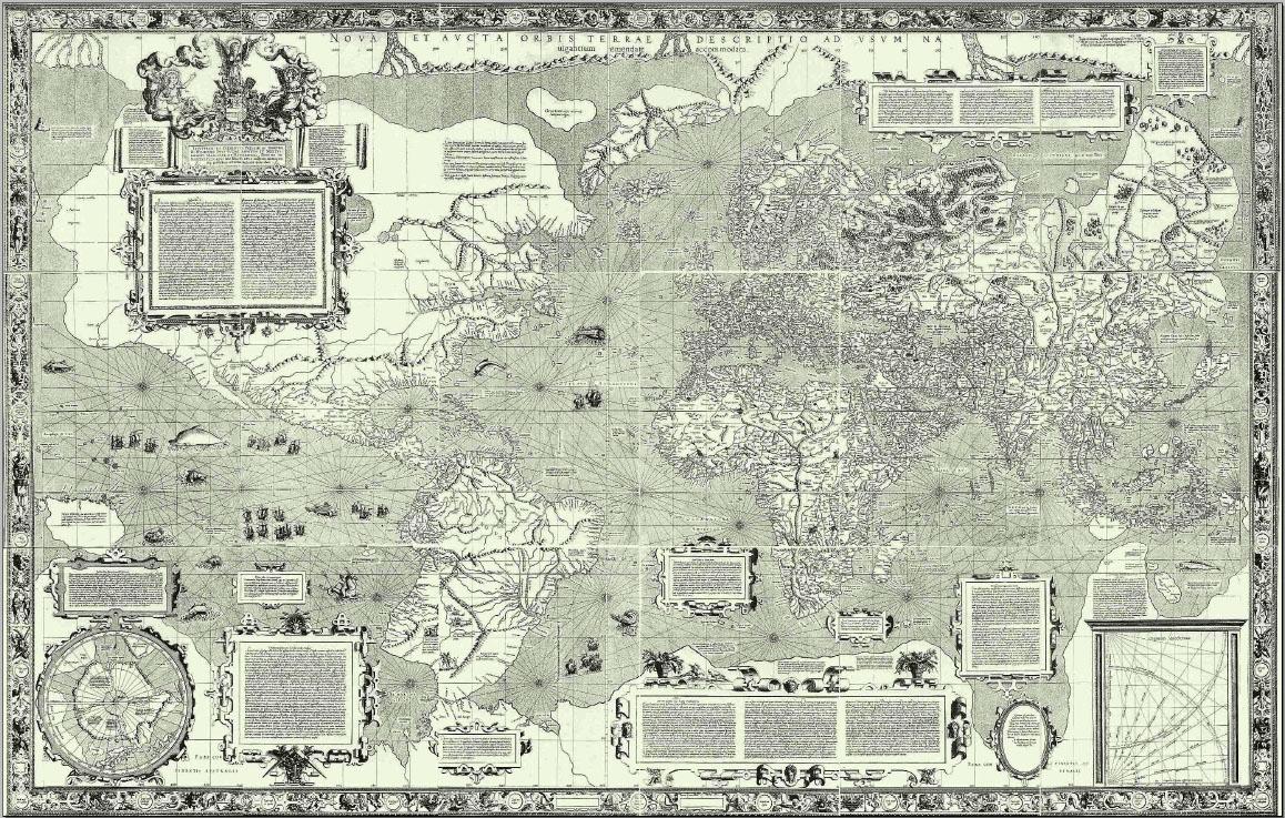Mercator's kaart van 1569